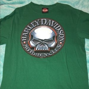 Men's Harley Davison' shirt